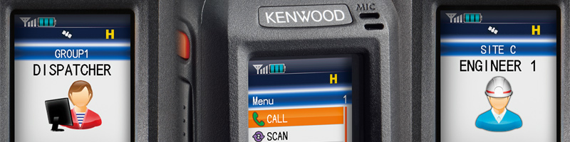 Kenwood DMR Tier II trunking